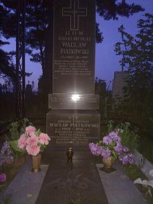 Могила В.И. Пионтковского