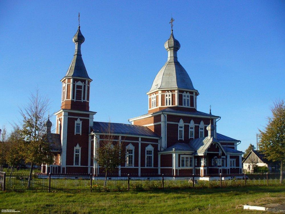 Церковь Святых апостолов Петра и Павла, деревня Остров