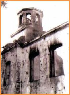 Даревский костел, фото 1986 год.
